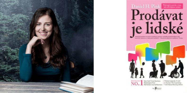 Kateřina Foltánková Prodávat je lidské kniha o prodeji
