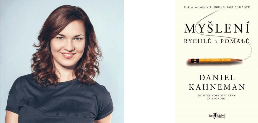 Marie Grafová Myšlení rychlé pomalé kniha psychologie
