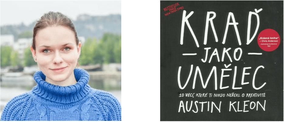 Martina Habartová Kraď jako umělec kniha