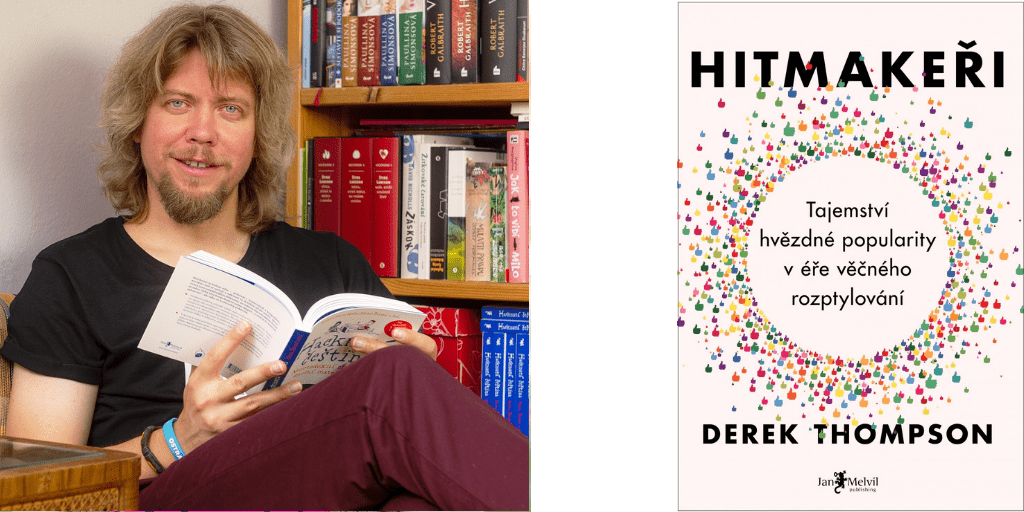 copywriter Martin Kavka Hitmakeři recenze knihy