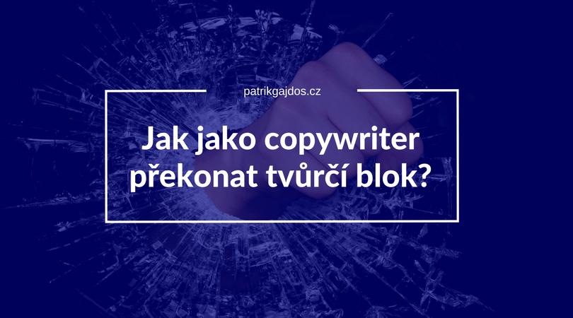 Náhled k článku jak jako copywriter překonat tvůrčí blok
