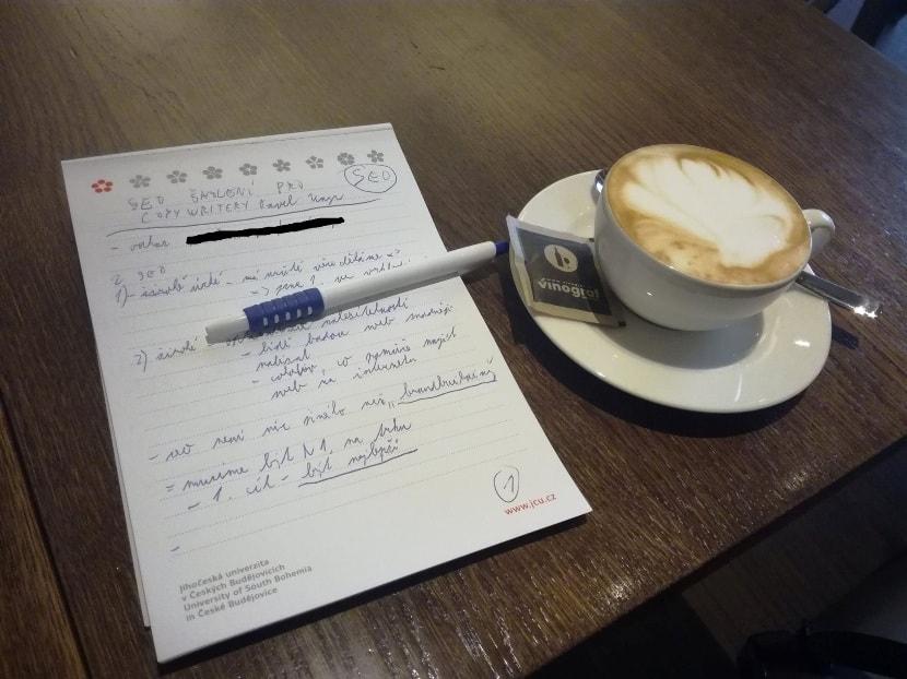 Poznámky ze školení Pavla Ungra SEO školení pro copywritery