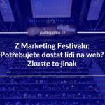 Marketing Festival 2019 report přednášky