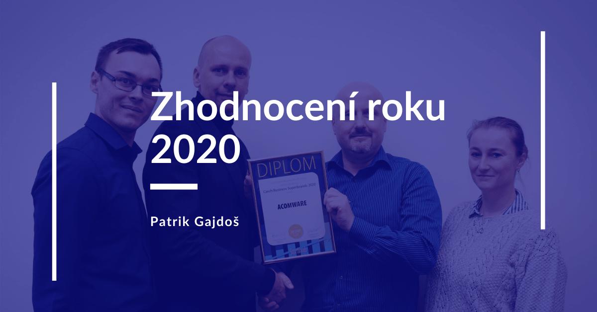 Patrik Gajdoš zhodnoceni-roku-2020